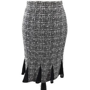Alfani Skirt Silk Godets Size 6
